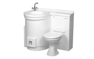 Geza Basin Toilet Melamine